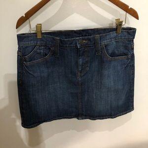 GAP Denim Mini Skirt, like-new! 12